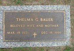 Thelma <I>Garner</I> Bauer