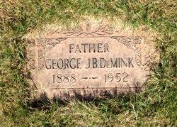 """George James """"Benedict"""" DeMink"""