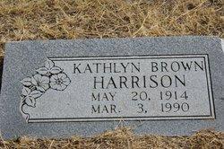 Kathlyn <I>Brown</I> Harrison