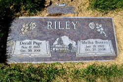 Derall Page Riley