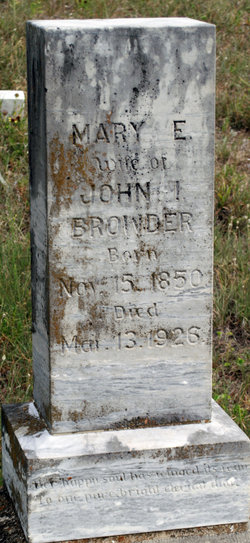 Mary Elizabeth <I>Burton</I> Browder