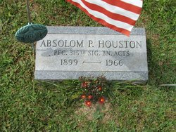 "Absolom P. ""Abs"" Houston"