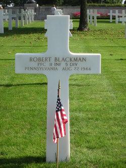 PFC Robert Blackman