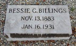 Bessie C <I>Dow</I> Billings