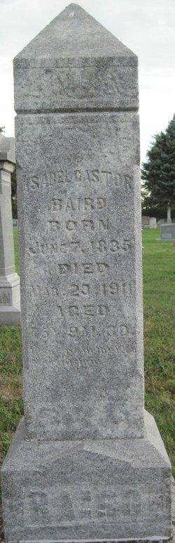 Isabel <I>Castor</I> Baird