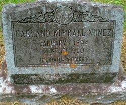 Garland Kimball Nunez