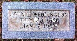 John Howell Weddington