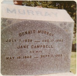 Jane <I>Campbell</I> Murray