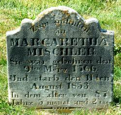 """Margaretha """"Margaret"""" <I>Bear</I> Mischler"""