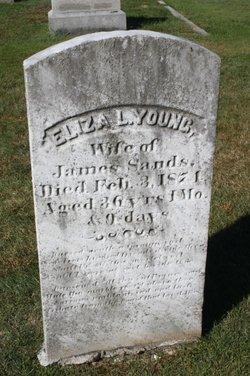 Eliza L. <I>Young</I> Sands