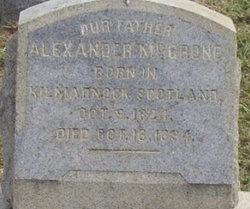 Alexander McGrone