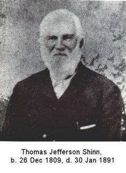 Thomas Jefferson Shinn, Sr