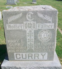 Mary L <I>Few</I> Curry