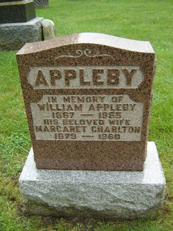Margaret <I>Charlton</I> Appleby