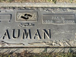 Fay <I>Bachman</I> Auman