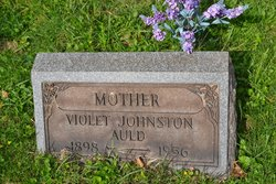 Violet <I>Johnston</I> Auld