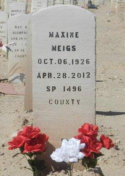 Maxine Estelle <I>Brandt</I> Meigs