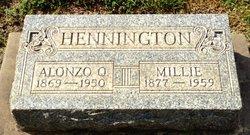 Alonzo Q Hennington