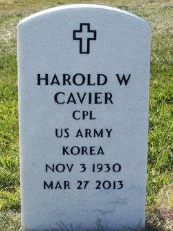CPL Harold Wayne Cavier