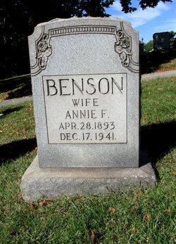 Annie F. Benson