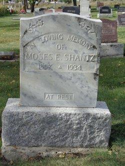Moses E Shantz