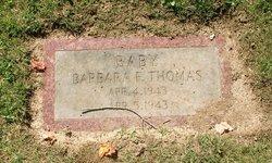Barbara F Thomas