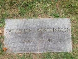 Catherine L <I>Armstrong</I> Worthington