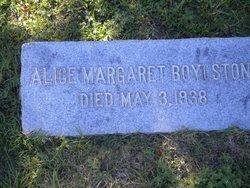 Alice Margaret Boylston