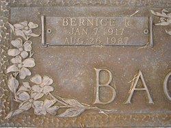 Bernice <I>Roper</I> Bagwell