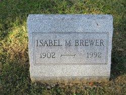 Isabel M Brewer