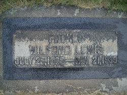 Wilford Lewis