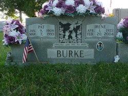 Flora Irene <I>Crabtree</I> Burke