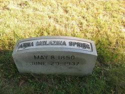Anna Melazina Spring