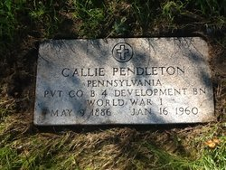 Callie H Pendleton