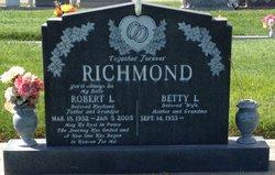 Betty Patricia <I>Wallace</I> Richmond