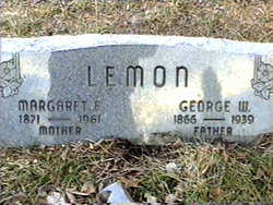 Margaret Emaline <I>Patterson</I> Lemon