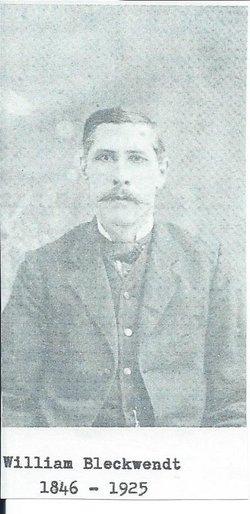 """Carl Heinrich Wilhelm """"William"""" Bleckwendt"""