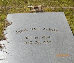 Janie <I>Nall</I> Almon