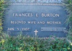Frances Elizabeth <I>Harker</I> Burton