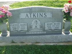 Mary Ruth <I>Hutson</I> Atkins