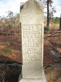 """Mary B. """"Molsey"""" <I>Gordon</I> Keels"""