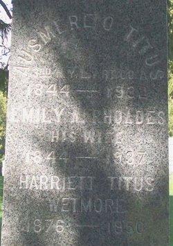 Harriet <I>Titus</I> Wetmore