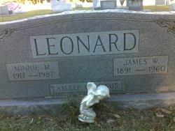Minnie <I>Milliken</I> Leonard