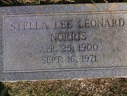 Stella Lee <I>Leonard</I> Norris