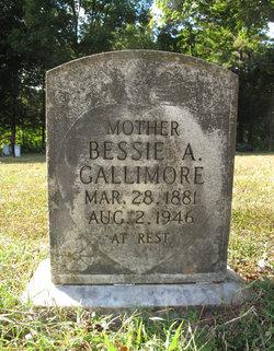 Bessie Ann <I>Garrett</I> Gallimore
