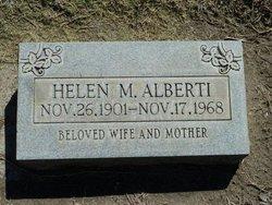 Helen M <I>Hacker</I> Alberti