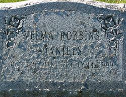 Velma <I>Robbins</I> Daniels