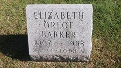 Elizabeth <I>Orlof</I> Barker