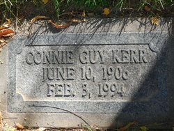 Connie <I>Guy</I> Kerr
