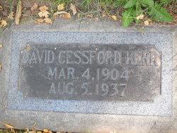 David Cessford Kerr